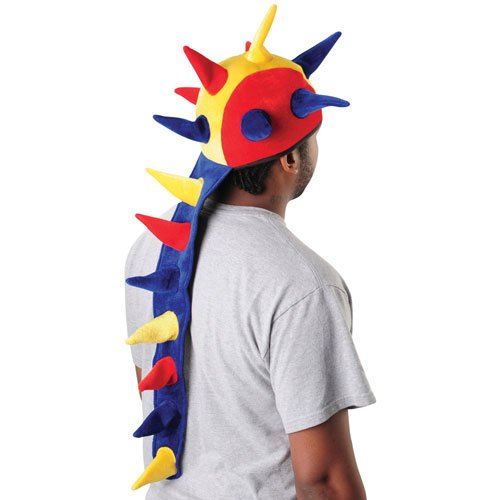 US Toy Company H516 Multi Color Dragon Tail Hat - 1
