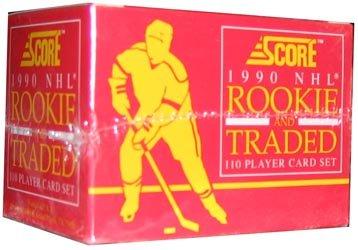 1990 91 Score Rookie And Traded Hockey Set 110C