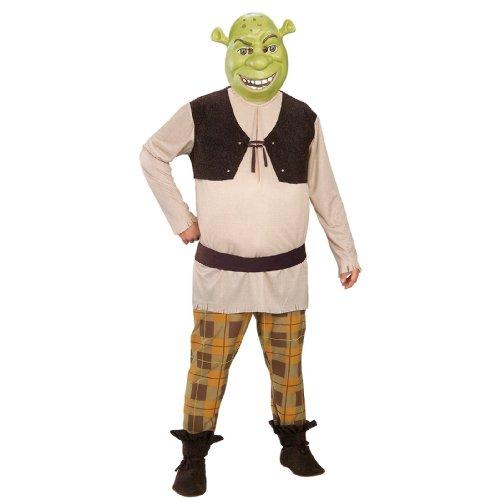 Shrek Deluxe Costume, Green, X-Large