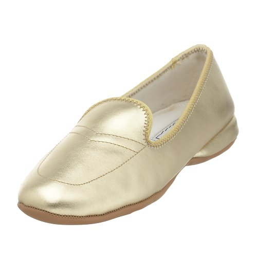 Daniel Green Women's Meg Slipper,Gold Metallic,7.5 W