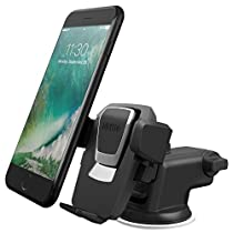 iOttie Easy One Touch 3 (V2.0) Car Mount Universal Phone Holder for iPhone 7 Plus 6s Plus SE Samsung Galaxy S7 Edge S6 Edge Note 5- Retail Packaging- Black