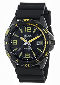 Casio Men's MTD-1065B-1A2VDF Core Collection Analog Resin Band Watch