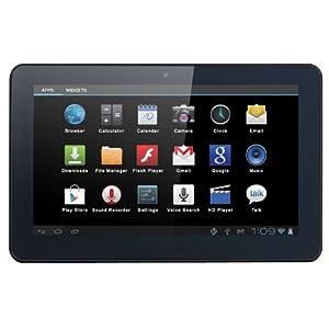 """Brigmton BTPC-1011DC - Tablet de 10.1"""" (Dual Core Cortex A9 1.6 GHz, WiFi, 4 GB, Android 4.1), negro"""