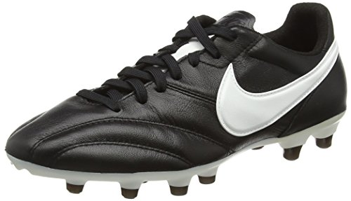 Nike - The Nike Premier, Scarpe Da Calcio da uomo, Black/Summit White-ORNG Blaze, 47,5