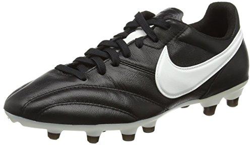 Nike - The Nike Premier, Scarpe Da Calcio da uomo, Black/Summit White-ORNG Blaze, 47,5