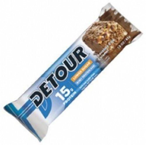 Forward Foods Detour Low Sugar Bars, Chocolate Chip Caramel, 43 Grams (Pack of 9)