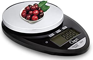 Ozeri Pro II Digital Kitchen Scale, 1g to 12 lbs Capacity, with Countdown Kitchen Timer