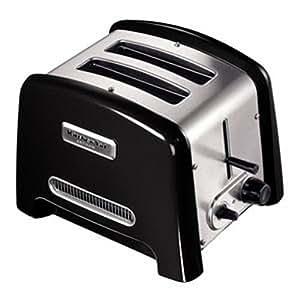Kitchenaid artisan 5ktt780bob 2 slice toaster black kitchen home - Artisan toaster slice ...