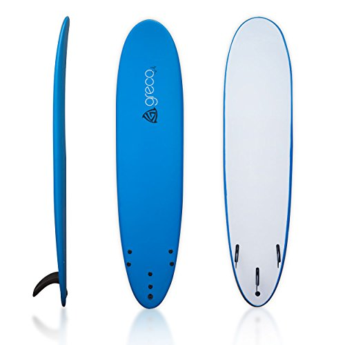 8' Performance Soft Top Foamboard Long Surfboard Foam Surfboard Longboard