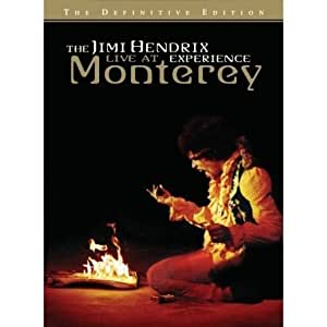 The Jimi Hendrix Experience - Live At Monterey [HD DVD] [Import anglais]