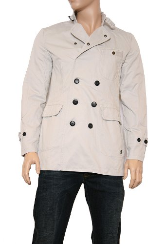 G-Star Raw correctline da uomo CL Trench 82954.3176 Giacca Grey Marble(1469) Large