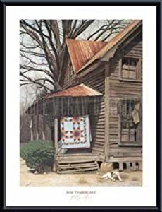 Gilley's House, Framed Art Print by Timberlake