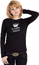 Black Carpe Diem Tee