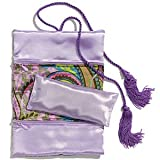 Sonoma Lavender - Lavender Jewelry Roll with BONUS Eye Pillow