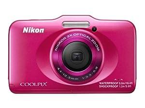 Nikon Coolpix S31 Fotocamera Digitale, 10 Megapixel, Zoom Ottico 3x, Display LCD da 6.9 cm (2.7 Pollici), Colore Fucsia