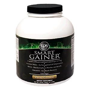 IDS Smart Gainer, Vanilla-Cinnamon, 10-Pound Package