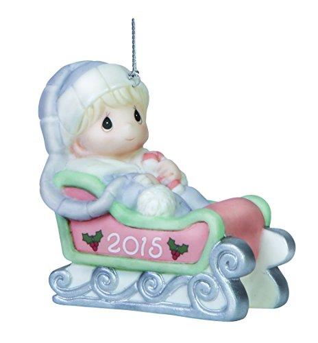 Precious Moments Baby's First Christmas-2015 Boy Ornament precious moments кукла близко к сердцу precious moments