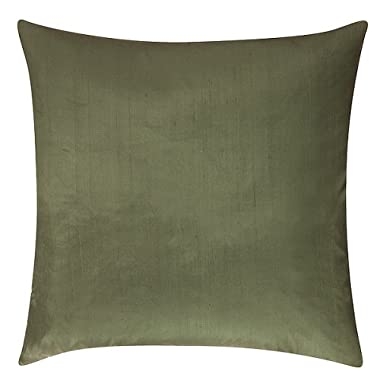 Product Image Solid Silk Toss Pillow - Green