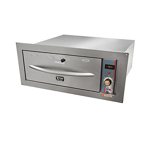 APW Wyott HDDI-2B 120V Built-In Double Holding / Warming Drawers