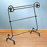 Amazon.com: Iron Quilt Rack Comforter Display Stand Throw Bedroom ...