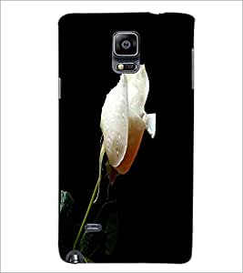 PrintDhaba White Rose D-2002 Back Case Cover for SAMSUNG GALAXY NOTE 2 (Multi-Coloured)