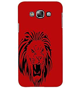 SAMSUNG GALAXY GRAND 3 LION Back Cover by PRINTSWAG