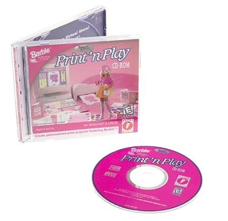 Barbie Print 'n Play