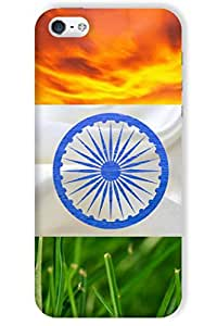 IndiaRangDe Hard Back Cover FOR Apple iPhone 5 5S