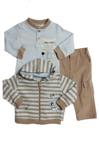 87c1ec1d5 Best Price BT Kids Infant Boys (12-24 mo) 3 pc hoodie jacket, t-shirt &  corduroy pants set
