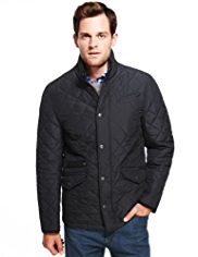 Blue Harbour Water Resistant Quilted Jacket