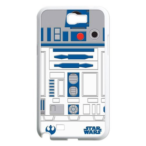 Top Design Star Wars Series Samsung Galaxy Note 2 Case R2D2 Robot Samsung Galaxy Note 2 N7100 Faceplate Hard Cell Protector Housing Case