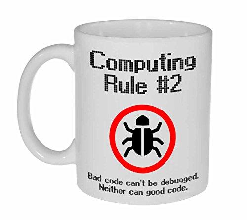 Comuting Rule #2 Funny Coffee or Tea Mug