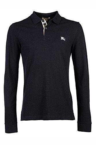 Burberry polo t-shirt maglia maniche lunghe uomo blu EU S (UK 36) PPM6561441100