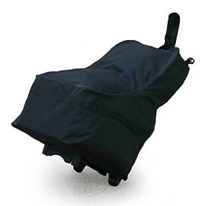jl childress wheelie car seat travel bag black. Black Bedroom Furniture Sets. Home Design Ideas