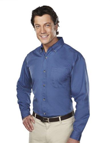 Tri-Mountain 770 Professional w/DupontTM Teflon Stain Resistant Shirt, French Blue, 3XLT