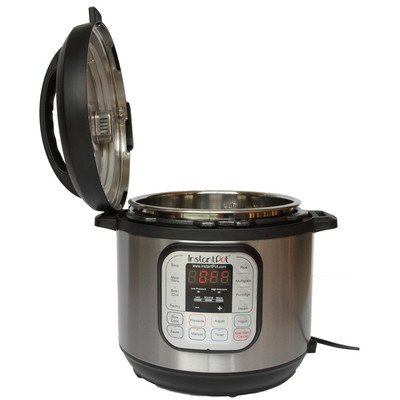 instant pot ip duo50 7 in 1 programmable pressure cooker with stainless steel cooking pot and. Black Bedroom Furniture Sets. Home Design Ideas