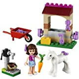 Swell Lego Friends Olivia's Newborn Foal (41003) - Cleva Edition LEGO'BAG Bundle