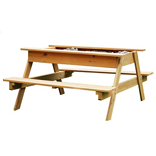 garden-games-sandpit-picnic-table-12m-wide-for-up-to-4-children-child-sized-picnic-bench-and-sandbox