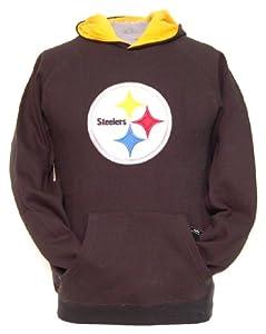 NFL Pittsburgh Steelers 8-20 Youth Sportsman Pullover Fleece Hoodie from Reebok