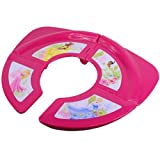 Disney Princess Folding Travel Potty with Clear Case-Hot Pink/Magenta