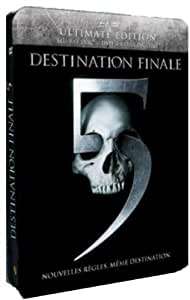 Destination finale 5 [Ultimate Edition boîtier SteelBook - Combo Blu-ray + DVD]