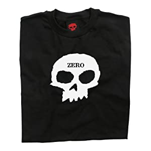 Zero Skateboards Skull T-Shirt - Black