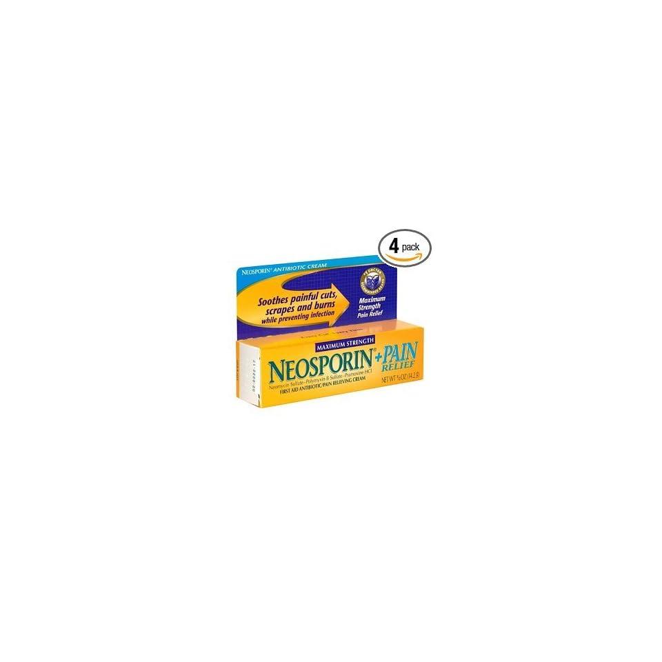 Neosporin Plus Pain Relief First Aid Antibiotic/Pain