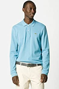 Long Sleeve Classic Chine Pique Polo