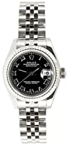 Rolex Ladys Datejust 179174 Jubilee Band 18k White Gold