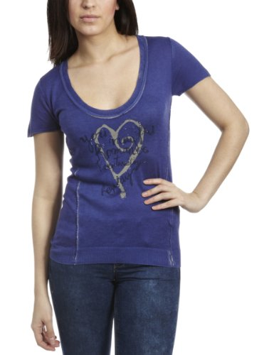 Replay DK2825 Knitwear Purple Womens Top