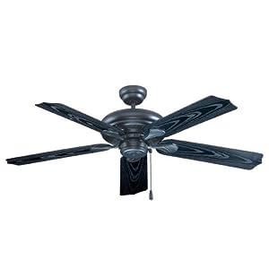 royal pacific 1017w bk es torrent 5 blade 52 inch ceiling. Black Bedroom Furniture Sets. Home Design Ideas