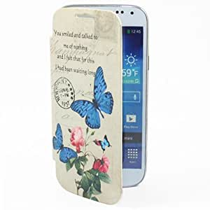 Electro-Weideworld Flip Batterie Housse etui Coque à rabat en Cuir Pour Samsung Galaxy S4 mini i9190