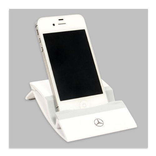 Mercedes-Benz White Tablet Stand