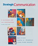 Strategic Communication in Business & the Professions (0395858690) by Dan O'Hair